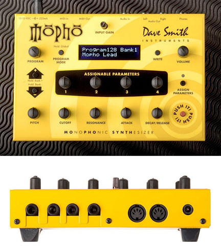 Dave Smith Instruments MoPho desktop demo unit