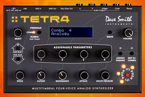 Tetra Polyphonic Synth Module (Open Box)