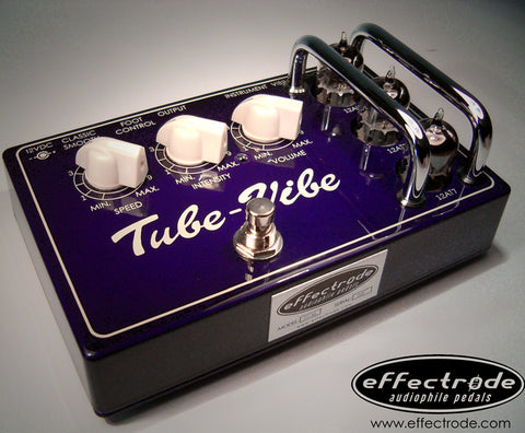 Effectrode Tube-Vibe High-Fidelity Uni-Vibe