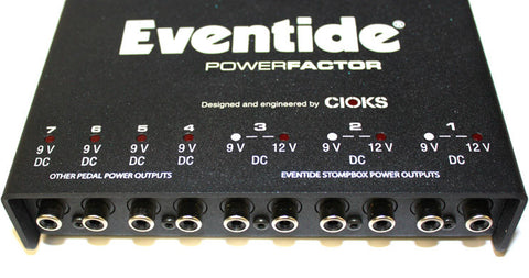 Eventide PowerFactor Stompbox Power Supply