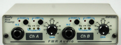 FMR Audio RNP Really Nice Pre-Microphone Preamp