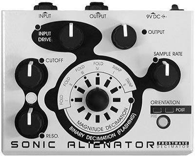 Sonic Alienator, New Old Stock