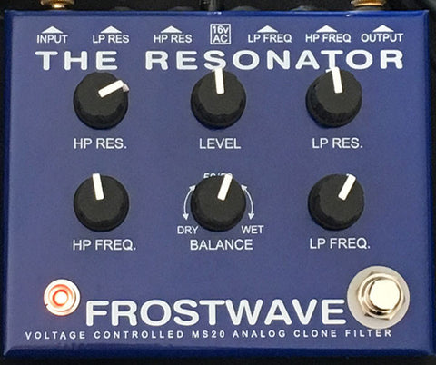 Resonator - Voltage Controlled MS20 Analog Clone Filter
