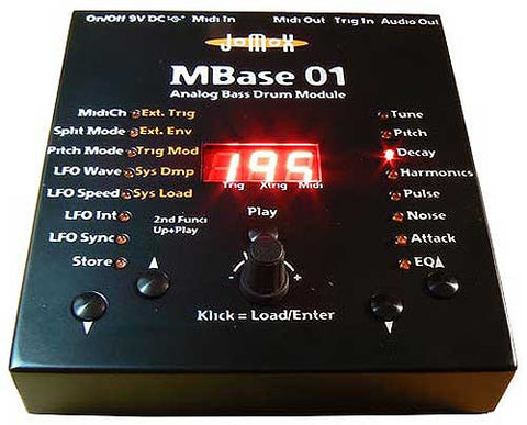 Jomox MBase 01 Base Drum Synthesizer