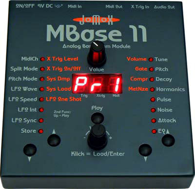 Jomox MBase 11 Bass Drum Synthesizer