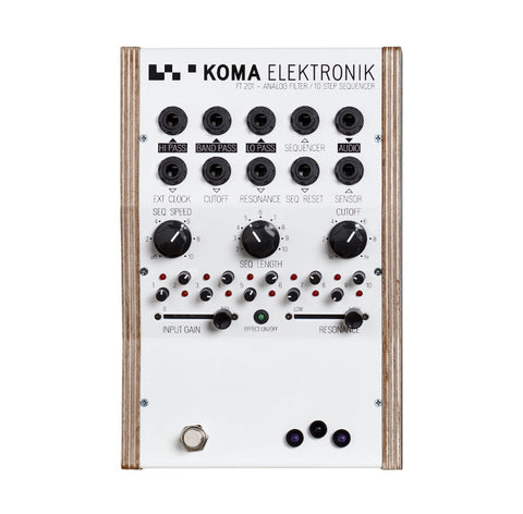 Koma Elektronik FT 201 Analog Filter 10 Step Sequencer