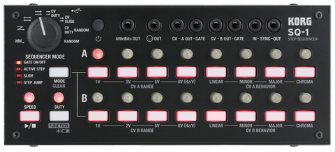 Korg SQ-1 CV MIDI Step Sequencer