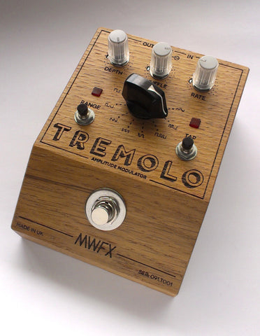 MWFX Pedals Tremolo with Clock In CV Out