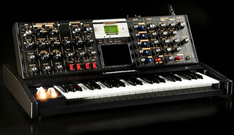 Moog Minimoog Voyager Select 11 of 15 Black Solar