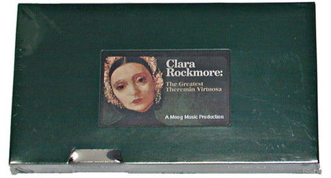 Moog VHS Clararockmore The Greatest Theremin Virtuosa