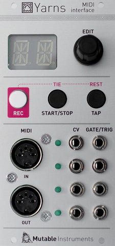 Mutable Instruments Yarns MIDI Interface