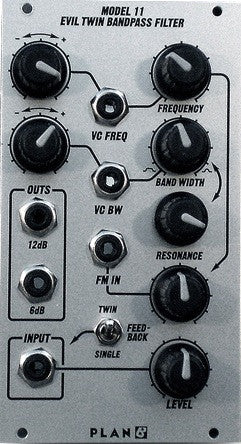 Plan B Model 11 Evil Twin Bandpass Filter