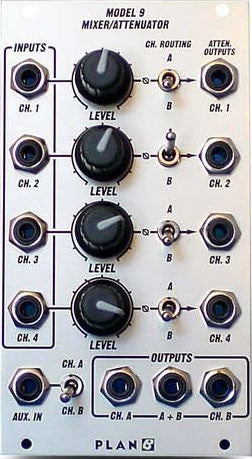 Plan B Model 9 Mixer Attenuator