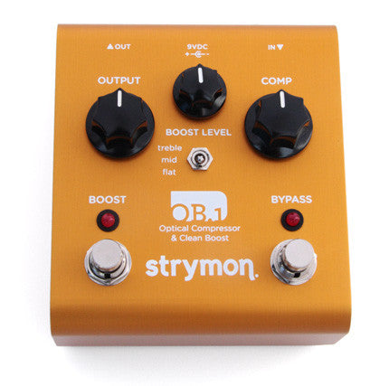 Strymon OB1 Bass Optical Compressor and Clean Boost