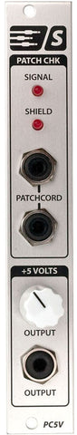 PC5V Patch Cord Checker & Variable 5 volt supply
