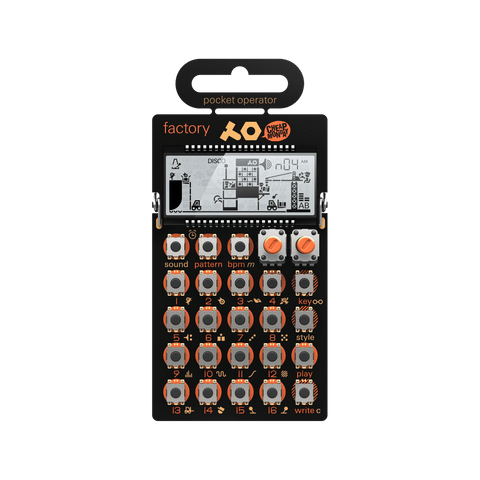 Teenage Engineering PO-16 Pocket Operator Factory Synthesizer