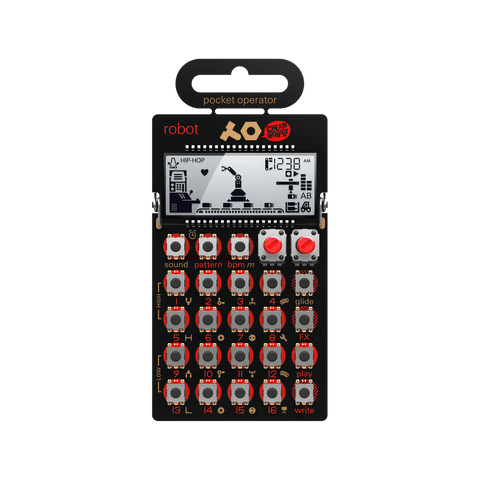 Teenage Engineering PO-28 Pocket Operator Robot Synthesizer and Sequencer