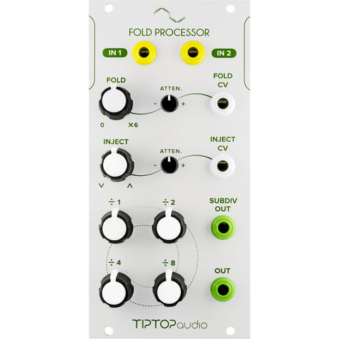 Tiptop Fold Processor White
