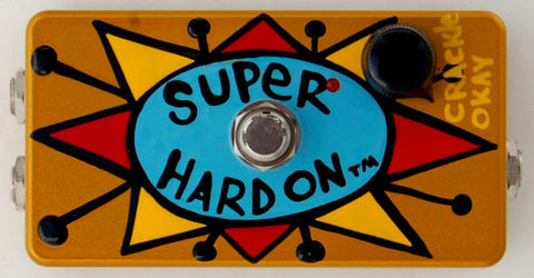 ZVEX Super Hard On Hand Painted by Bennett New Old Stock
