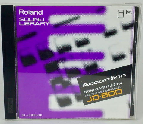 "ROM card set ""Accordion"" for JD-800 (SL-JD80-07)"