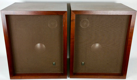 1957 C36 cabinets (pair) w/ D130 woofers, 075 Ring Radiators & N2600 x-overs