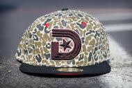 DUCK CAMOUFLAGE SNAPBACK CAP in Green Camo