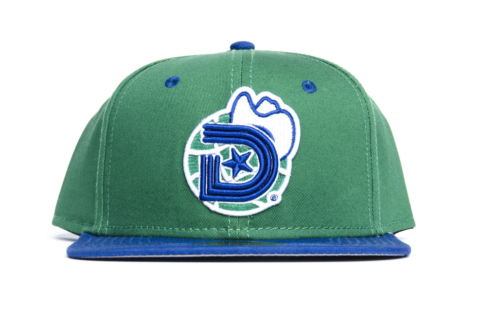 Year of the Light (Baller Alert) SNAPBACK CAP in Green and Blue