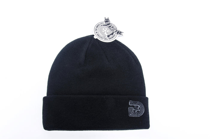 **OG LOGO BEANIE IN BLACK