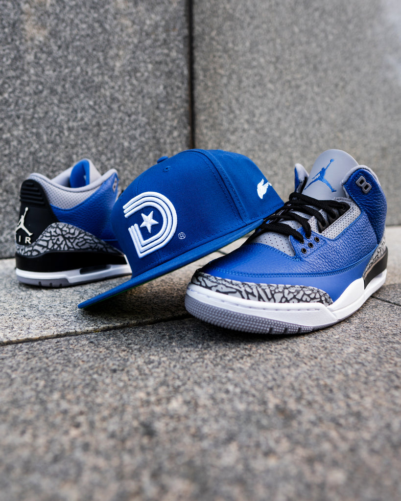 Nipsey Royal Blue Classic OG with Pegasus Wings