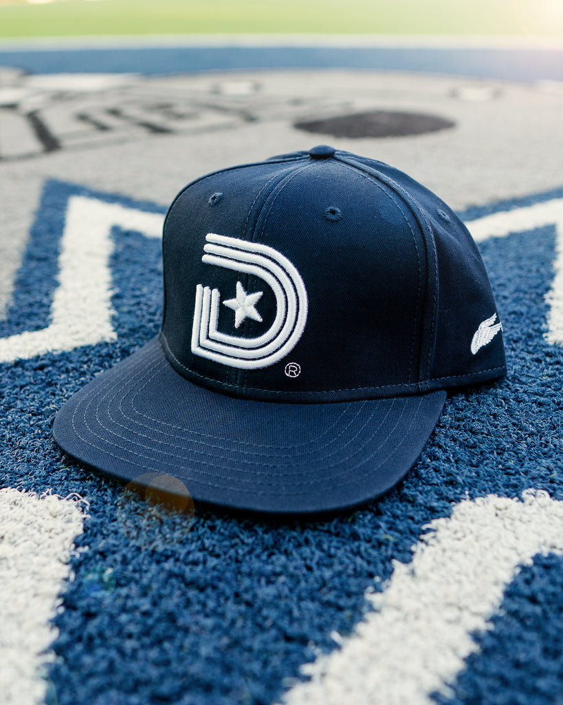Original Classics OG Snapback in Navy with Wing.