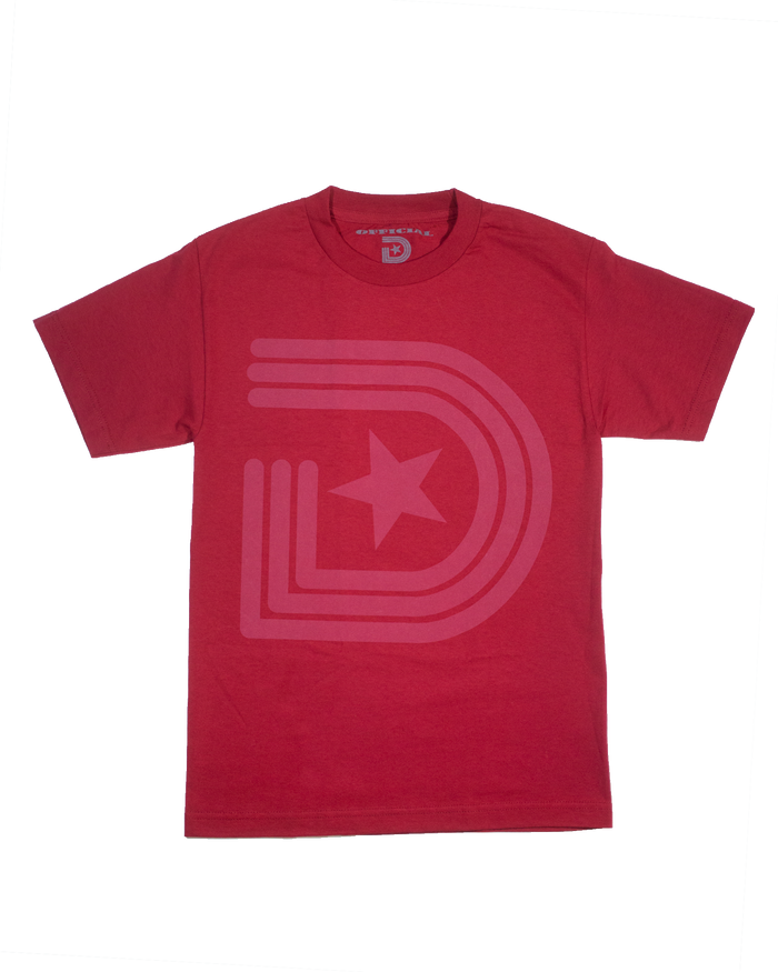 Vintage OG Classic T-Shirt Red on Red