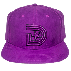 """Wicked Royalty"" 1841 URBAN COUTURE STRAPBACK STRAPBACK IN PURPLE & GREEN"