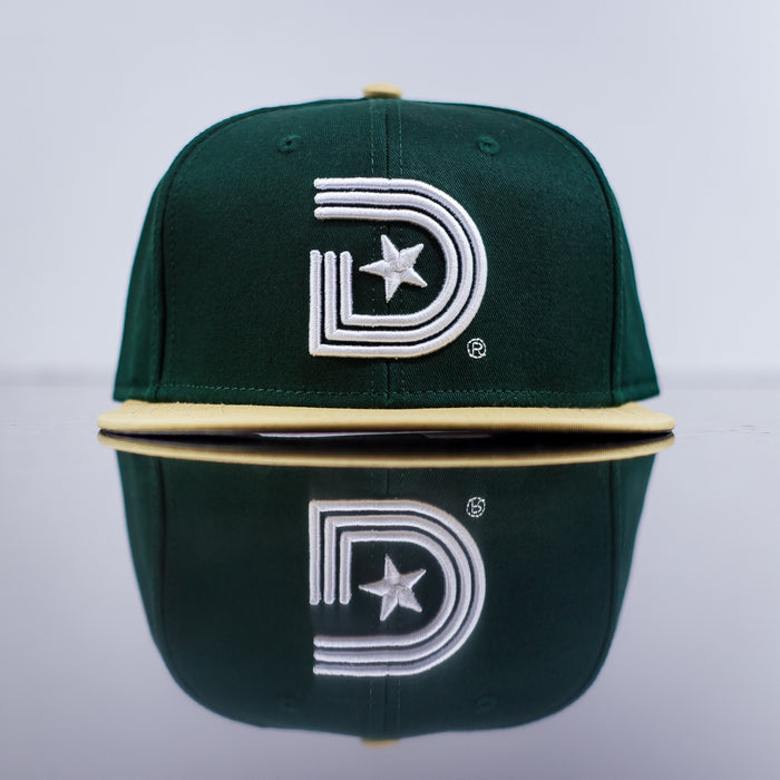 Classics Snapback in Green & Vintage Yellow