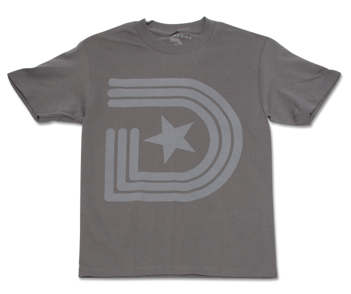 Vintage OG T-Shirt Gray on Gray