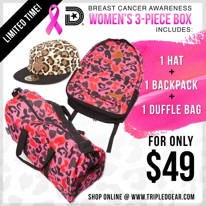 Breast cancer awareness 3 Piece Box