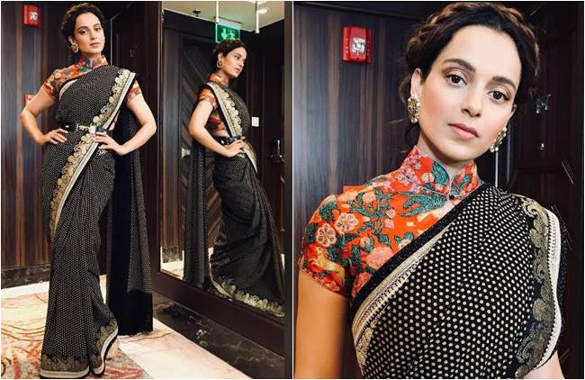 Best of the East meets the Beast of the West :  Fusion looks  from Kangana Ranaut to breathe life into your Indian Ethnic style