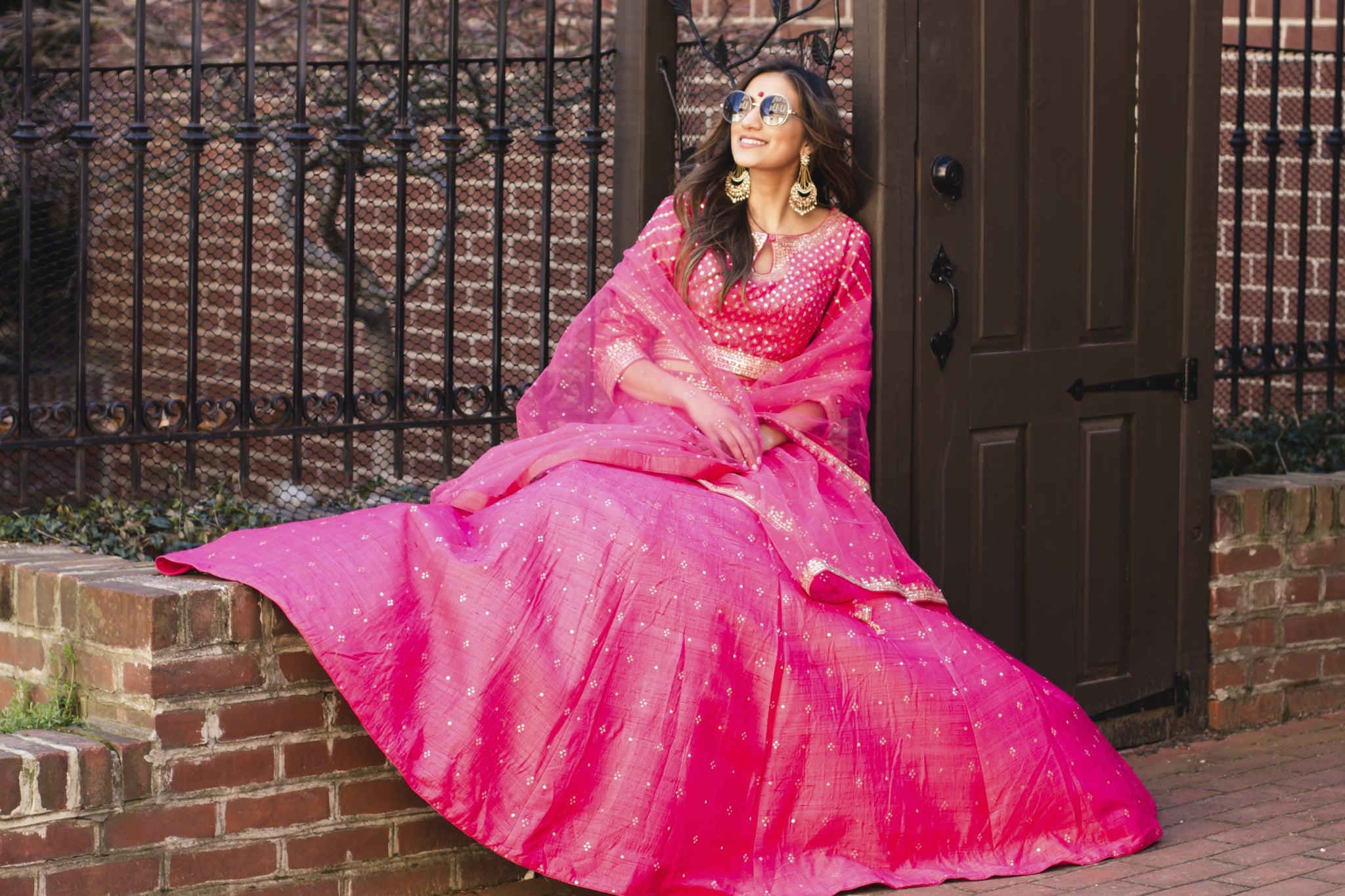 It's getting Hot pink in here: Begin the 2019 festive season in a hot pink lndian Ethnic outfit