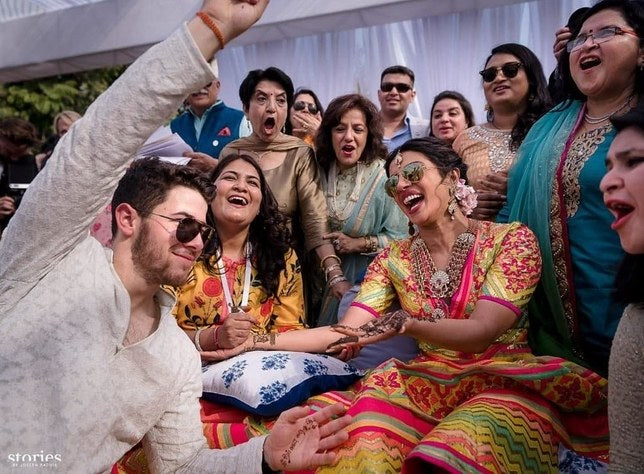 Priyanka Chopra and Nick Jonas Mehendi Ceremony Pics