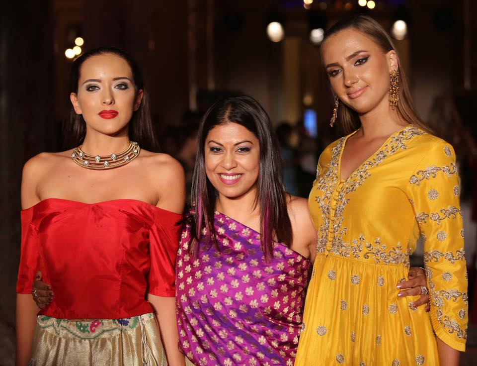 Unveiling the Contemporary Banarsi Couture showcased at Cannes Fashion Week 2018
