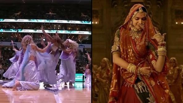 Padmaavat's song Ghoomar performed by the NBA Cheerleaders will leave you Awestruck