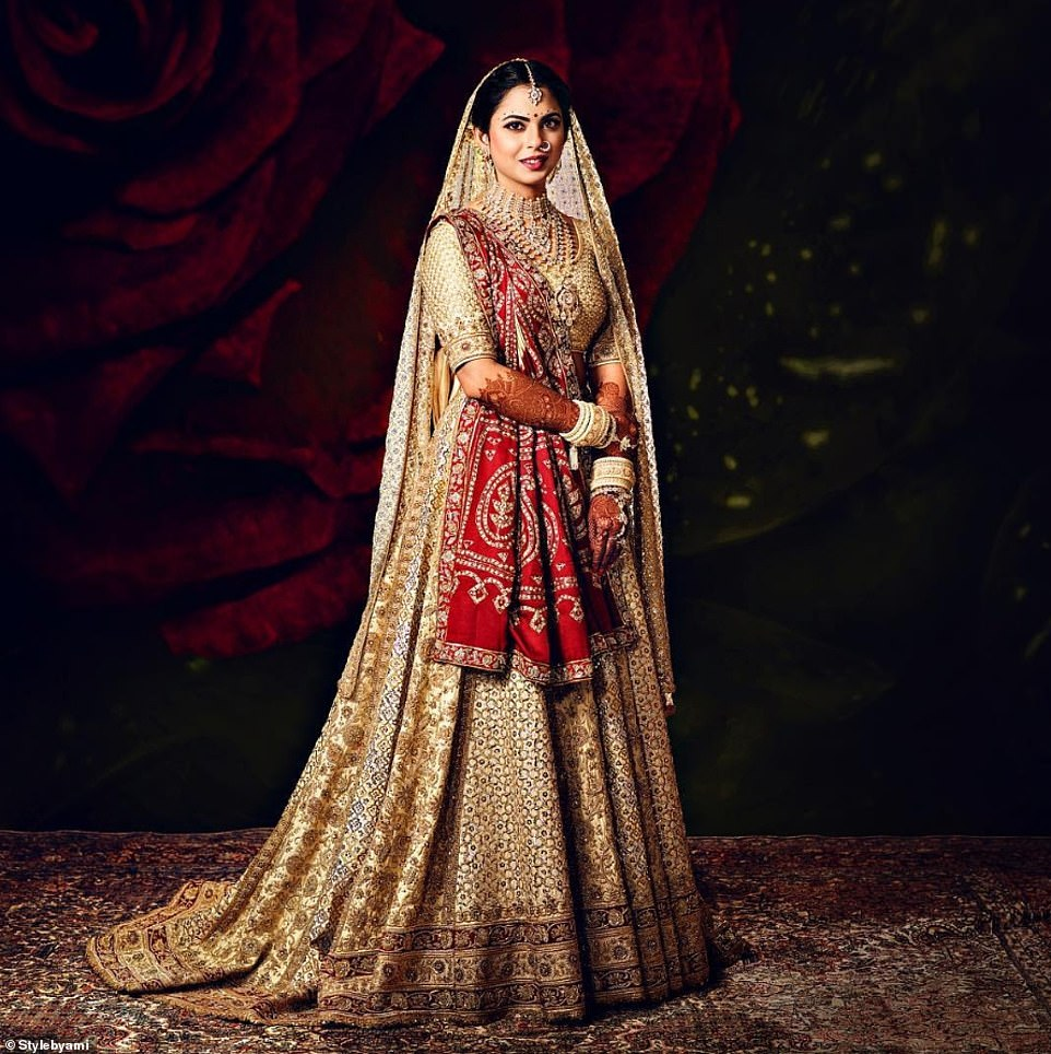 India's Richest Daughter Isha Ambani's Best Bridal Looks