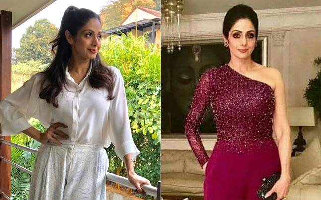 Sridevi's Iconic Looks over the Years: Recalling the Timeless Beauty
