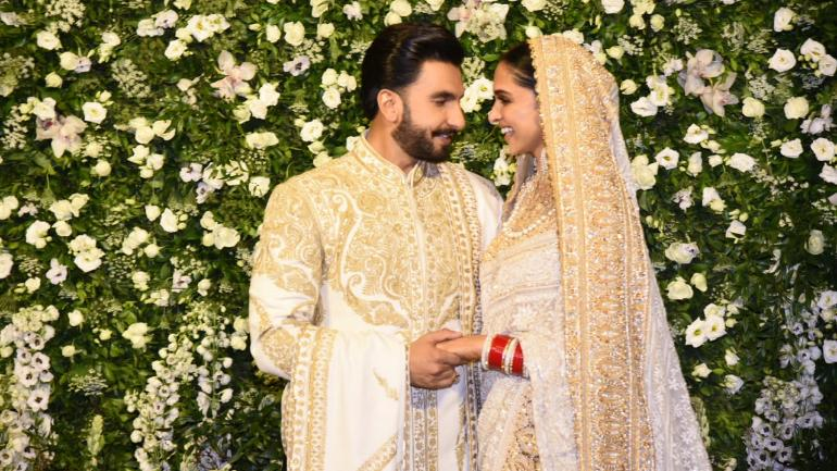 Deepika Padukone and Ranveer Singh breaking the internet with Reception Affair