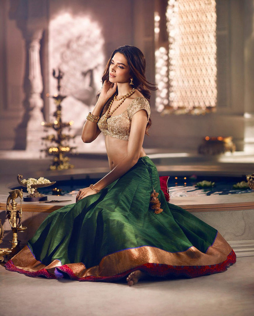 10 times deepika padukone rocked ethnic ensembles like a for Deepika padukone new photoshoot for tanishq jewelry divyam collection