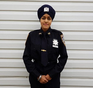 Proud Moment: First Indian-American Woman becomes Turbaned Sikh Officer in NYPD
