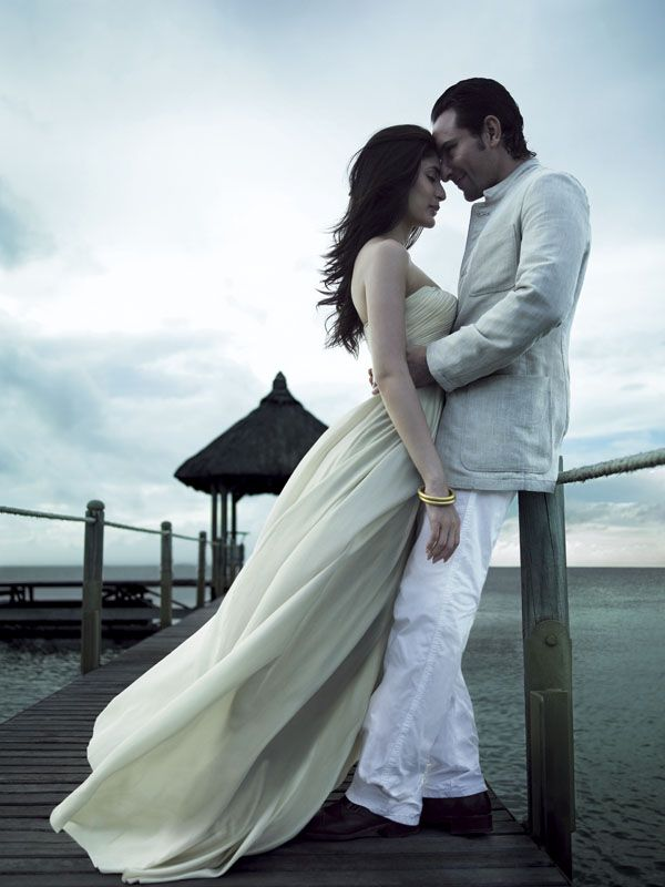 What are you wearing on your momentous pre-wedding shoot?
