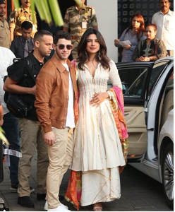 Priyanka Chopra and Nick Jonas Arrive in Style for their Destination Wedding