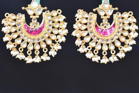 Amrapali chandbali earrings