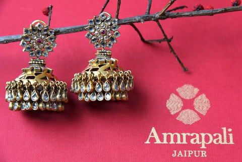 Classic Jhumka Earrings