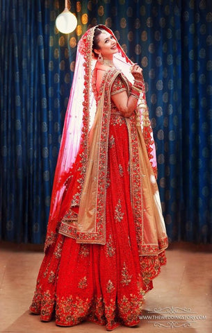 8abcb41c63 How to Wear Designer Lehenga to Look Slim?